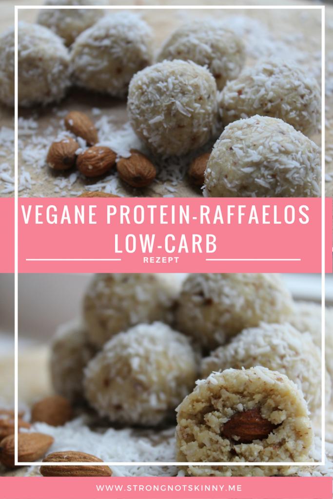Vegane Low-Carb Raffaelos Protein Rezept