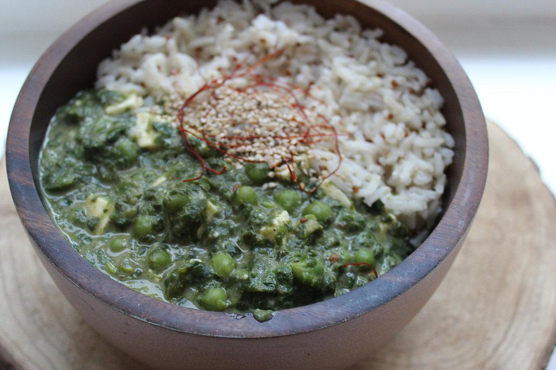 IndischesCurry zum veganen Muskelaufbau