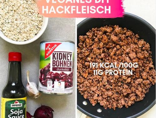 Vegane Ersatzprodukte selber machen Vegan Low Carb Protein