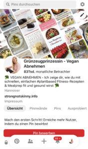 Vegan Abnehmen Grünzeugprinzessin Blog & Rezepte