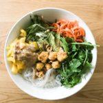 Kichererbsen-Tofu Bowl Rezept Vegan Abnehmen