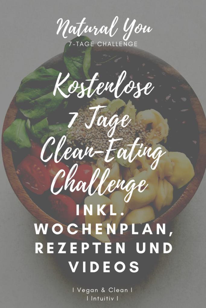 Vegan Abnehmen Ernährungsplan 7 Tage challenge PDF