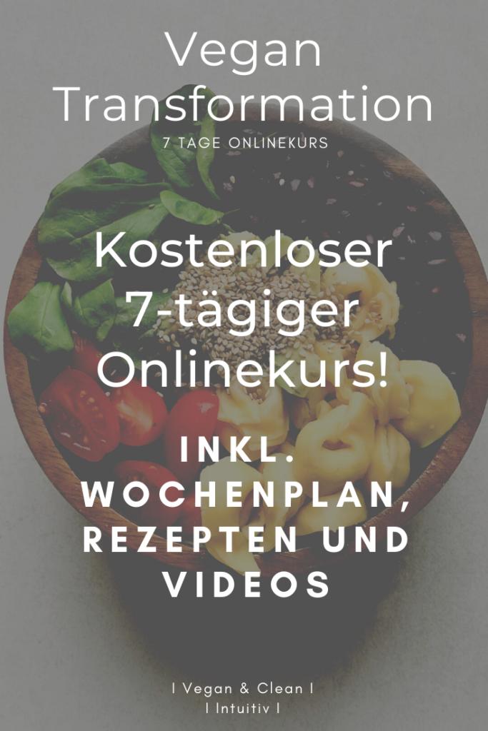 Vegan Abnehmen Onlinekurs Challenge