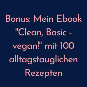 Vegan Abnehmen Onlinekurs Rezepte
