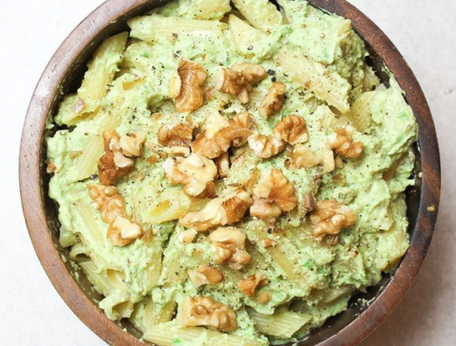vegane Avocado Pasta Rezept Thermomix
